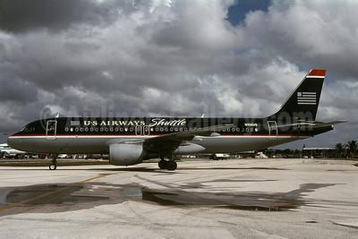 US Airways Shuttle (US Airways) Airbus A320-214 N106US (msn 1044) MIA (Bruce Drum). Image: 101077.