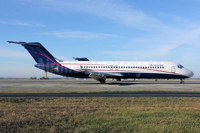 USA Jet Airlines McDonnell Douglas DC-9-31 N231US (msn 48114) YIP (Jeffrey S. DeVore). Image: 910354.