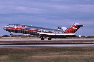 USAir Boeing 727-227 N783AL (msn 21998) DEN (Jay Selman). Image: 400417.