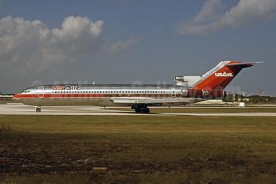 USAir Boeing 727-2B7 N760AL (msn 21953) FLL (Bruce Drum). Image: 101041.