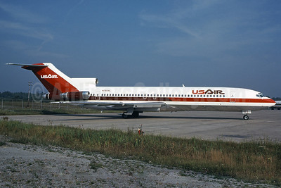 USAir Boeing 727-2B7 N760AL (msn 21952) PIT (Elliot H. Greenman - Bruce Drum COllection). Image: 101042.