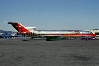 USAir Boeing 727-2B7 N762AL (msn 21954) SFO (Christian Volpati Collection). Image: 948816.