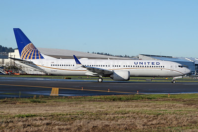 United Airlines Boeing 737-9 MAX 9 N47517 (msn 43456) BFI (Nick Dean). Image: 952449.