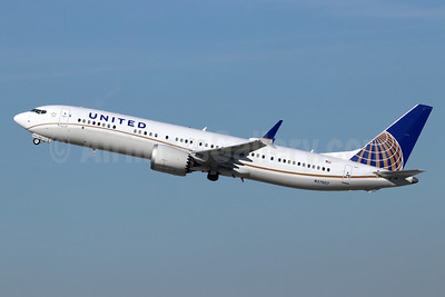 United Airlines Boeing 737-9 MAX 9 N37507 (msn 43437) LAX (Michael B. Ing). Image: 945310.