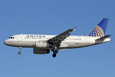 United Airlines Airbus A319-131 N838UA (msn 1477) LAX (Michael B. Ing). Image: 908967.