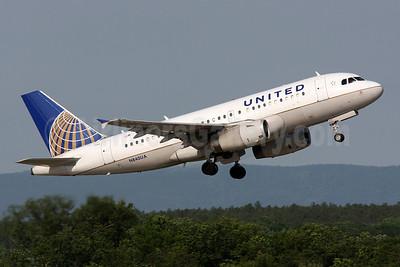 United Airlines Airbus A319-131 N840UA (msn 1522) IAD (Brian McDonough). Image: 908517.