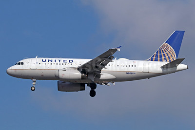United Airlines Airbus A319-131 N806UA (msn 788) LAX (Michael B. Ing). Image: 940040.