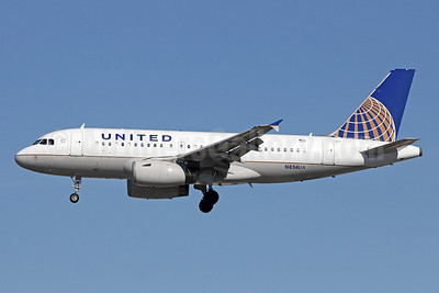 United Airlines Airbus A319-131 N834UA (msn 1420) LAX (Michael B. Ing). Image: 910548.