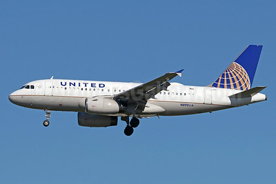 United Airlines Airbus A319-131 N890UA (msn 2815) LAX (Michael B. Ing). Image: 938083.