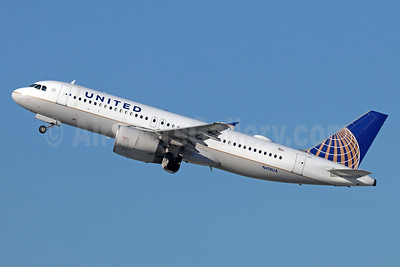 United Airlines Airbus A320-232 N418UA (msn 485) LAX (Michael B. Ing). Image: 938084.