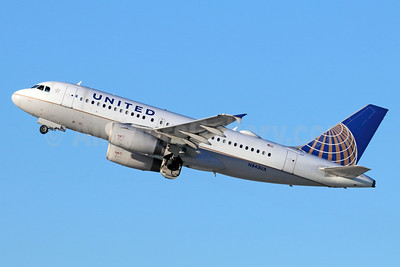 United Airlines Airbus A319-131 N843UA (msn 1573) LAX (Michael B. Ing). Image: 938082.