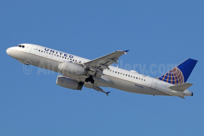 United Airlines Airbus A320-232 N466UA (msn 1343) LAX (Michael B. Ing). Image: 940043.
