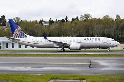 United's first Boeing 737-9 MAX 9 in Dreamliner livery