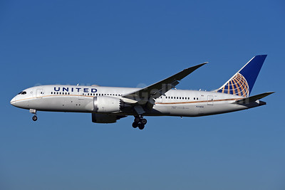 United Airlines Boeing 787-8 Dreamliner N28912 (msn 34828) ZRH (Rolf Wallner). Image: 944199.