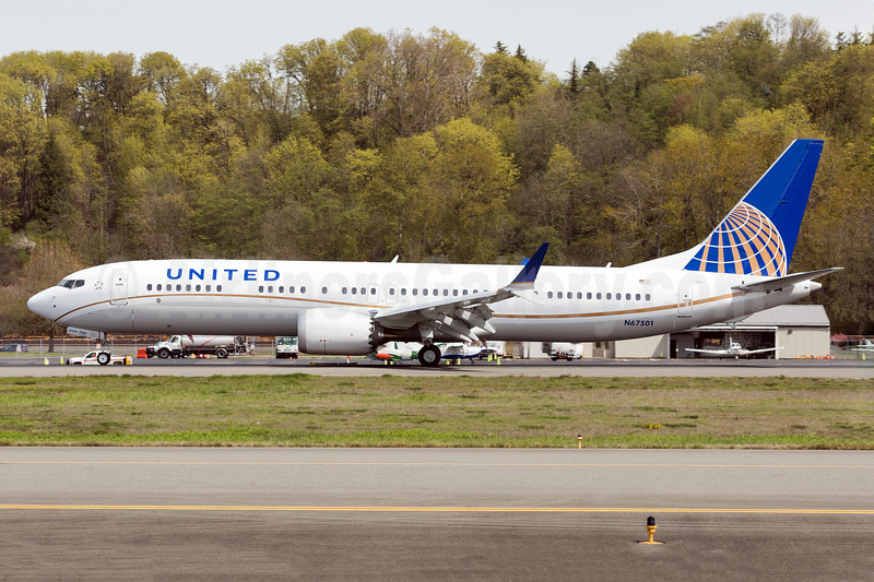 United's first Boeing 737-9 MAX 9