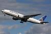 United Airlines Boeing 777-222 N780UA (msn 26944) LHR (SPA). Image: 936598.
