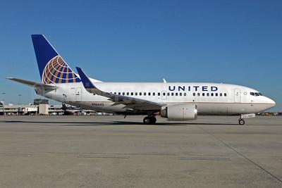 United Airlines Boeing 737-524 WL N16642 (msn 28903) CLT (Jay Selman). Image: 402165.