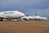 Boeing 747-422s at the Chicago O'Hare base