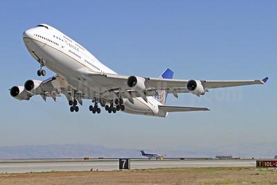 The final UA Boeing 747 revenue flight departure