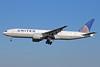 United Airlines Boeing 777-224 ER N27015 (msn 28678) NRT (Michael B. Ing). Image: 923739.