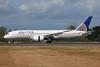 United Airlines Boeing 787-8 Dreamliner N20904 (msn 34824) PAE (Nick Dean). Image: 909319.