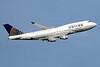 United Airlines Boeing 747-422 N177UA (msn 24384) LHR (SPA). Image: 940536.