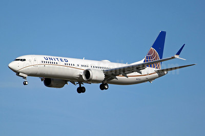 United Airlines Boeing 737-9 MAX 9 N47517 (msn 43456) BFI (Joe G. Walker). Image: 946583.