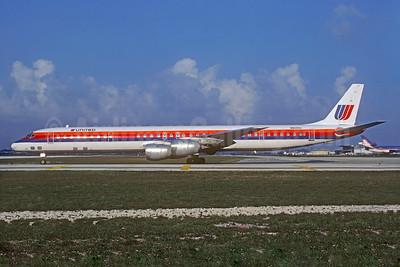 United Airlines McDonnell Douglas DC-8-71 N8099U (msn 46066) FLL (Christian Volpati Collection). Image: 932875.