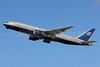 United Airlines Boeing 777-222 ER N206UA (msn 30212) LAX (Michael B. Ing). Image: 907552.