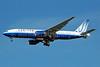United Airlines Boeing 777-222 ER N220UA (msn 30223) JFK (Bruce Drum). Image: 100607.