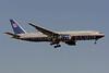 United Airlines Boeing 777-222 ER N793UA (msn 26946) IAD (Brian McDonough). Image: 908518.