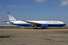 United Airlines Boeing 777-222 ER N785UA (msn 26954) LHR. Image: 936460.