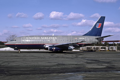 United Airlines Boeing 737-222 N9075U (msn 19956) EWR (A.J. Smith - Bruce Drum Collection). Image: 946998.
