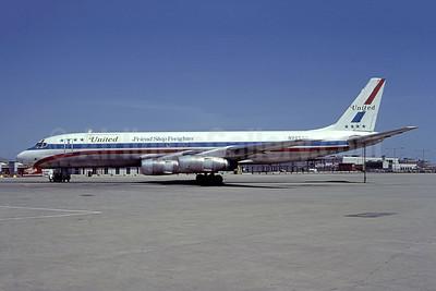 Cargo flight UA 2885 crashed and burned on take off at Detroit on January 11, 1983, 3 crew killed