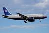 United Airlines Airbus A319-131 N854UA (msn 1731) DCA (Bruce Drum). Image: 100838.