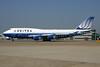 United Airlines Boeing 747-422 N177UA (msn 24384) LHR. Image: 936708.