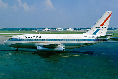 United Airlines Boeing 737-222 N9050U (msn 19556) (Jacques Guillem Collection). Image: 936463.