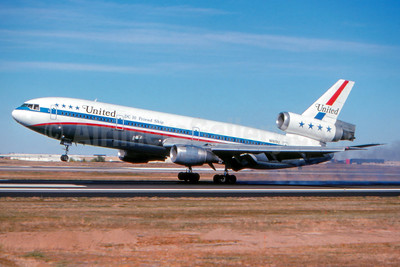 """DC-10 Friend Ship"", later crashed at Sioux City on July 19, 1989"