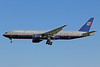 United Airlines Boeing 777-222 ER N225UA (msn 30554) PEK (Michael B. Ing). Image: 906181.