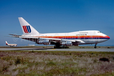 United Airlines Boeing 747SP-21 N140UA (msn 21022) SFO (Thomas Livesey). Image: 920998.