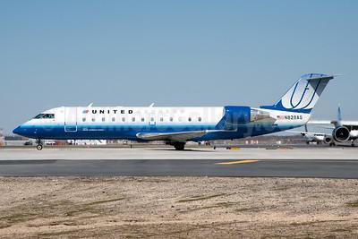 United Express-Atlantic Southeast Airlines Bombardier CRJ200 (CL-600-2B19) N828AS (msn 7213) JFK (Fred Freketic). Image: 950045.