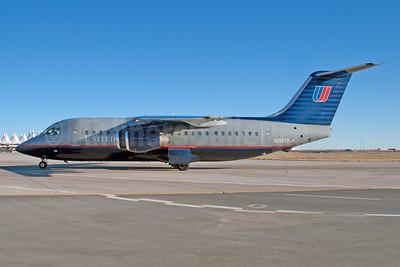United Express-Air Wisconsin BAE 146-200 N156TR (msn E2156) DEN (Fred Freketic). Image: 950047.