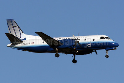 United Express-Colgan Air (2nd) SAAB 340B N237MJ (msn 237) IAD (Brian McDonough). Image: 904044.