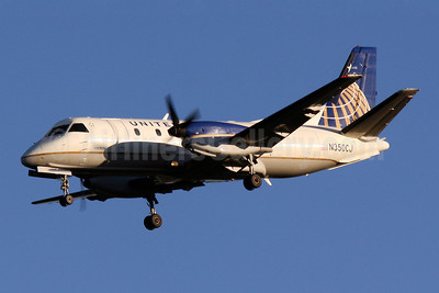 United Express-Colgan Air (2nd) SAAB 340B N350CJ (msn 350) IAD (Brian McDonough). Image: 907692.