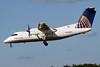 United Express-CommutAir Bombardier DHC-8-202 (Q200) N366PH (msn 510) BWI (Brian McDonough). Image: 923743.