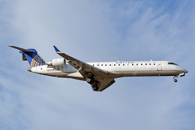 United Express-Mesa Airlines Bombardier CRJ700 (CL-600-2C10) N505MJ (msn 10070) CLT (Jay Selman). Image: 403814.