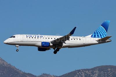 United Express-Mesa Airlines Embraer ERJ 170-200LR (ERJ 175)  N87365 (msn 17000859) ONT (Michael B. Ing). Image: 952573.