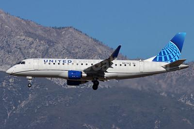 United Express-Mesa Airlines Embraer ERJ 170-200LR (ERJ 175)  N87365 (msn 17000859) ONT (Michael B. Ing). Image: 952572.