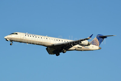 United Express-Mesa Airlines Bombardier CRJ700 (CL-600-2C10) N508MJ (msn 10087) CLT (Jay Selman). Image: 403816.