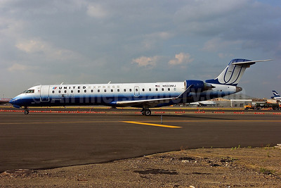 United Express-Mesa Airlines Bombardier CRJ700 (CL-600-2C10) N503MJ (msn 10058) JFK (Ken Petersen). Image: 903985.
